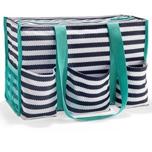 Thirty One Zip Top Organizing Tote like New